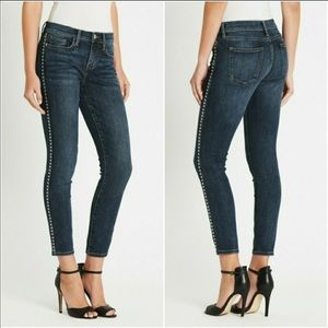 Current Elliott Caballo Stiletto Silver Stud Jeans